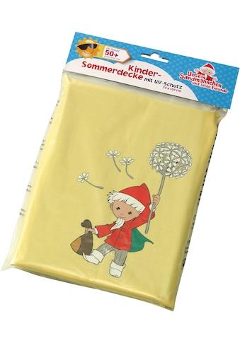 Heunec® Outdoordecke »Sandmann Sonnenschutzdecke«, mit UV Schutz 50+ kaufen
