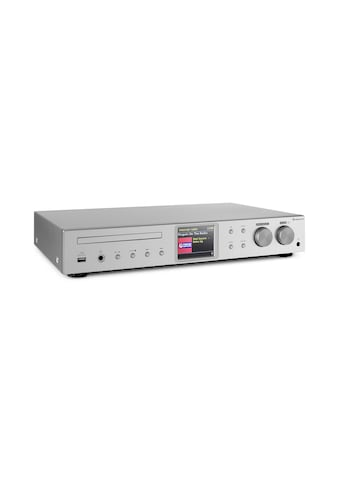 Auna HiFi - Receiver Internet/DAB+/ FM Radio CD - Player WiFi silber »iTuner CD« kaufen