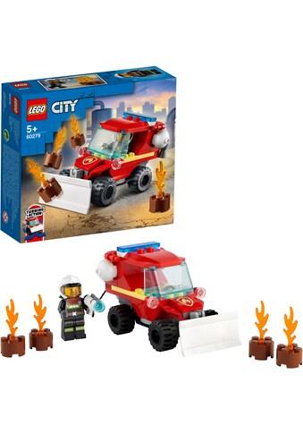 LEGO® Konstruktionsspielsteine »Mini-Löschfahrzeug (60279), LEGO® City Fire«, (87... kaufen