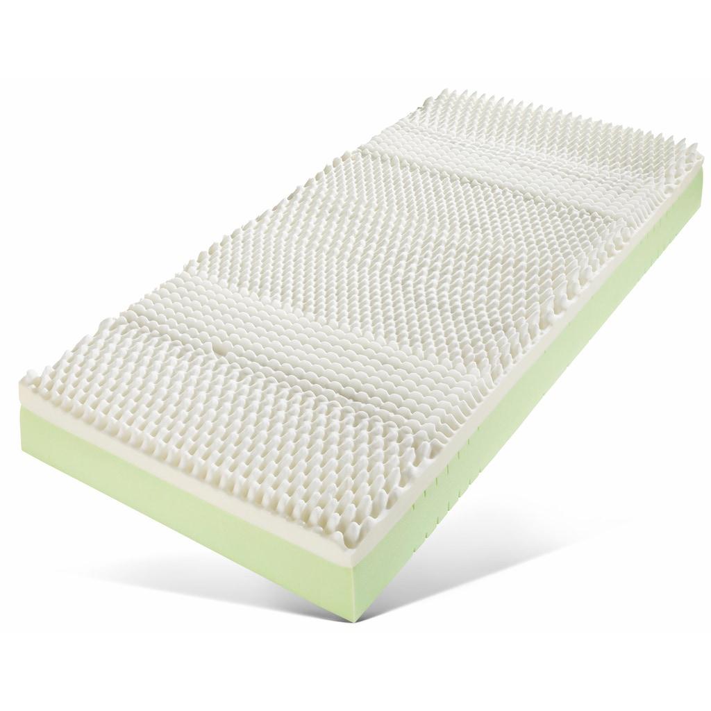 Breckle Visco-Matratze »Memory Pur«, (1 St.), Optimale Körperanpassung und Druckentlastung dank der Viscoschaumauflage