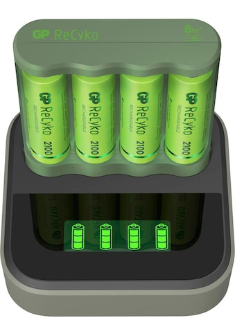 GP Batteries Akku-Ladestation »USB-Akkuladegerät B421 mit Docking Station, inkl. 4x... kaufen