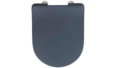 WENKO WC-Sitz »Sedilo matt Schwarz«, aus Duroplast, mit Absenkautomatik kaufen