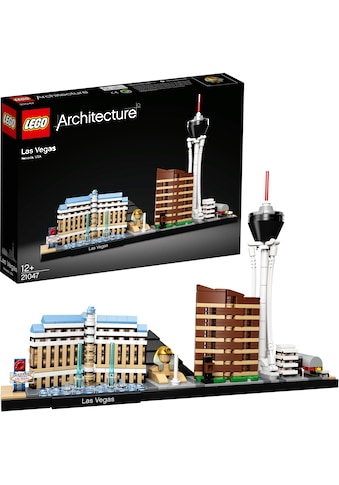 """LEGO® Konstruktionsspielsteine """"Las Vegas (21047), LEGO® Architecture"""", Kunststoff, (501 - tlg.) kaufen"""