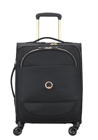 Delsey Weichgepäck-Trolley »Montrouge, 55 cm, Black«, 4 Rollen kaufen