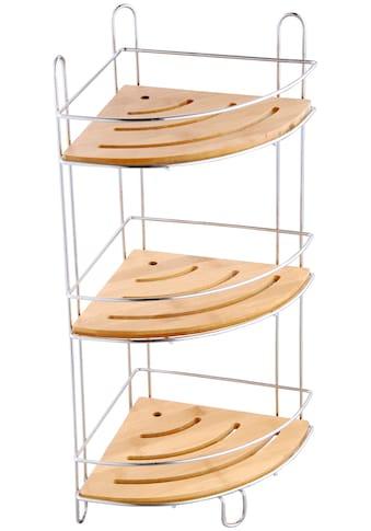 MSV Eckregal »Standregal«, 3 Ablagen, 19 x 19 x 48 cm kaufen