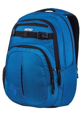 NITRO Schulrucksack »Chase, Blur Brilliant Blue« kaufen