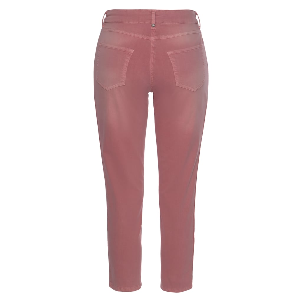 MAC 7/8-Jeans »Melanie-Cropped«, Dekorative Biesen an den Seitennähten