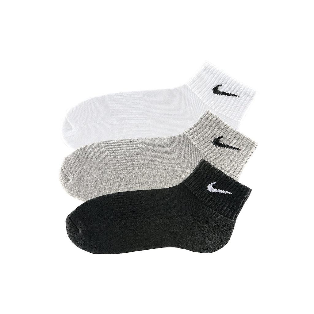 Nike Kurzsocken, (3 Paar), mit weichem Frottee