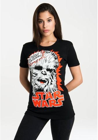LOGOSHIRT T-Shirt »Chewbacca«, mit lizenziertem Originaldesign kaufen