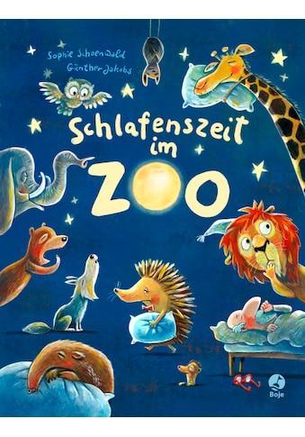 Buch »Schlafenszeit im Zoo / Sophie Schoenwald, Günther Jakobs« kaufen