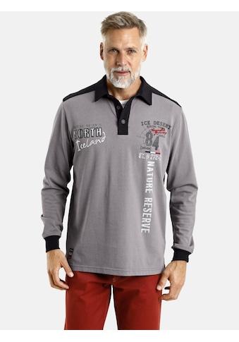 Jan Vanderstorm Sweatshirt »ARLO«, Rugby-Shirt, Comfort Fit kaufen