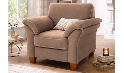 Home affaire Sessel »Borkum«, mit Federkern kaufen
