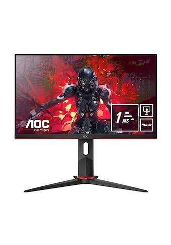 AOC FHD - Monitor 60,4 cm (24 Zoll) 1920x1080 16:9 1ms(MPRT) »24G2U5/BK« kaufen