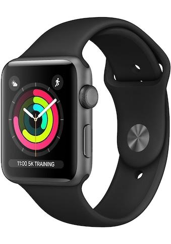 Apple Watch »- Series 3 GPS, 38 mm Aluminium-Gehäuse mit Sportarmband«, (Watch OS 5) kaufen