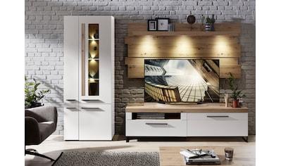 Innostyle Wohnwand »Loft Two«, (3 tlg.), inklusive LED-Beleuchtung kaufen