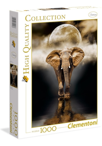 Clementoni® Puzzle »High Quality Collection - Der Elefant«, Made in Europe kaufen