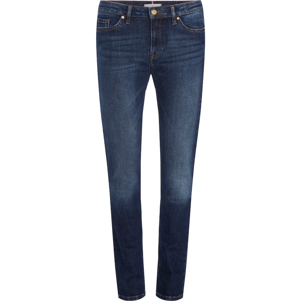 TOMMY HILFIGER Straight-Jeans »HERITAGE ROME STRAIGHT RW«, mit leichten Fadeout-Effekten