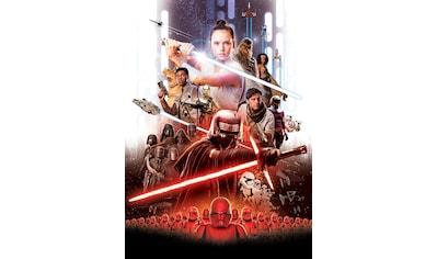 Komar Fototapete »STAR WARS EP9 Movie Poster Rey«, bedruckt-Comic, ausgezeichnet lichtbeständig kaufen