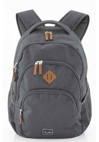travelite Cityrucksack »Basics Melange, anthrazit«, mit Laptopfach kaufen
