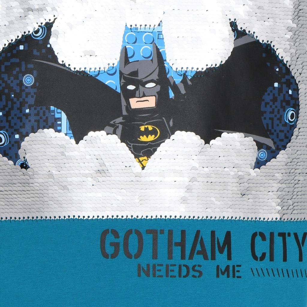 "LEGO® Wear Kurzarmshirt »M-22636«, ""Motiv mit LEGO Batman""und""Gotham City"""""