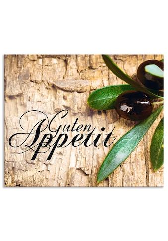 Artland Küchenrückwand »Oliven Guten Appetit«, selbstklebend in vielen Größen -... kaufen