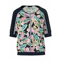 Looxent Blusenshirt »zum Schlupfen«, mit Floral-Muster