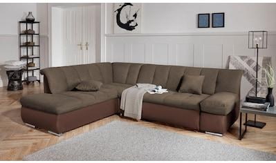 DOMO collection Ecksofa »Mona«, wahlweise mit Bett- und Armlehnfunktion kaufen