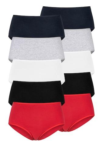 Go in Taillenslip, (10 St.), in frischen Uni-Farben kaufen