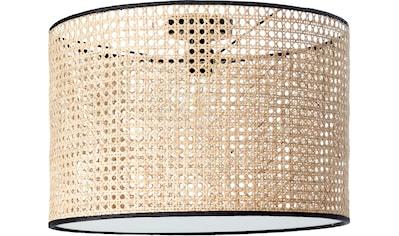 COUCH♥ Deckenleuchte »feines Geflecht«, E27, 1 St., Deckenlampe mit Wiener Geflecht Schirm Ø 45 cm, Höhe 30 cm, mit Diffusorplatte / Abdeckung an der Unterseite, COUCH♥ Lieblingsstücke kaufen