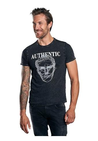emilio adani Print-Shirt, mit auffälligem Statement-Print kaufen