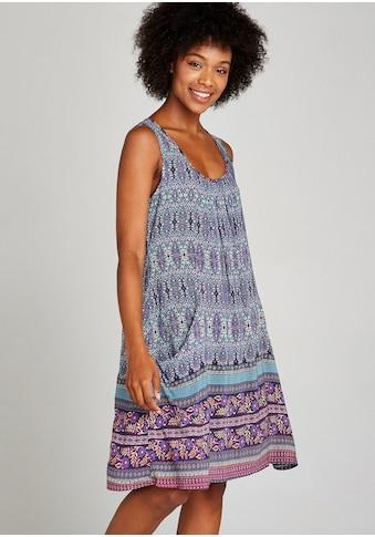 Apricot Druckkleid »Folk Floral Border Dress«, mit Taschen kaufen