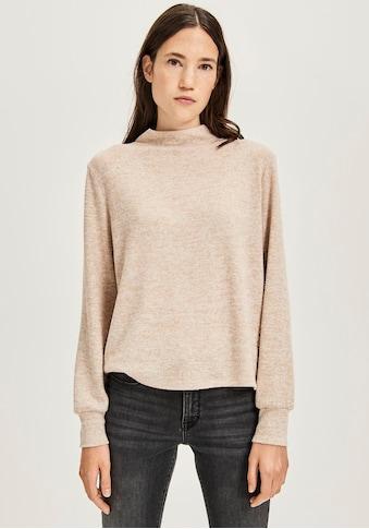 OPUS Langarmshirt »Sinnova mindful«, mit Knopfleiste am Rücken kaufen