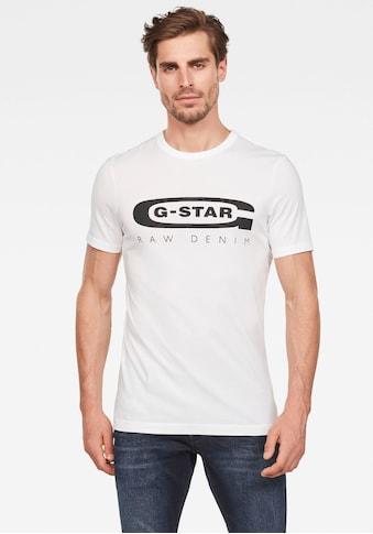 G - Star RAW Rundhalsshirt »Graphic 4« kaufen