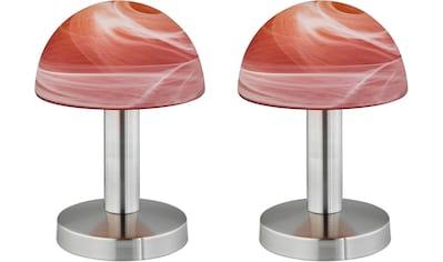 TRIO Leuchten Tischleuchte »Fynn«, E14, Set - 2 Stück, 4 fach TOUCH, Leuchtmittel tauschbar kaufen