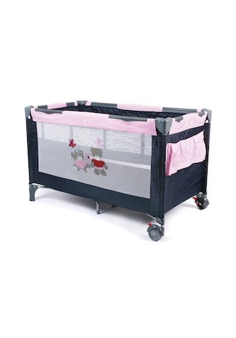 CHIC4BABY Baby-Reisebett »Luxus Pink Checker«, inkl. Tragetasche kaufen