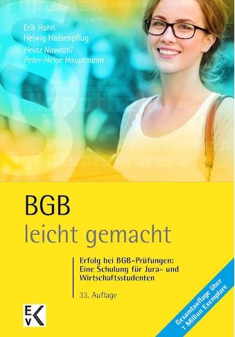 Buch »BGB - leicht gemacht / Heinz Nawratil, Erik Hahn, Peter H Hauptmann, Helwig... kaufen