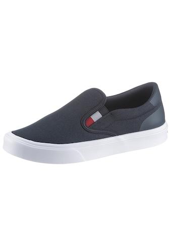 TOMMY HILFIGER Slip-On Sneaker »SLIP ON LIGHTWEIGHT KNIT SNEAKER SLIP ON«, mit Stretcheinsatz im Tommy Farben kaufen