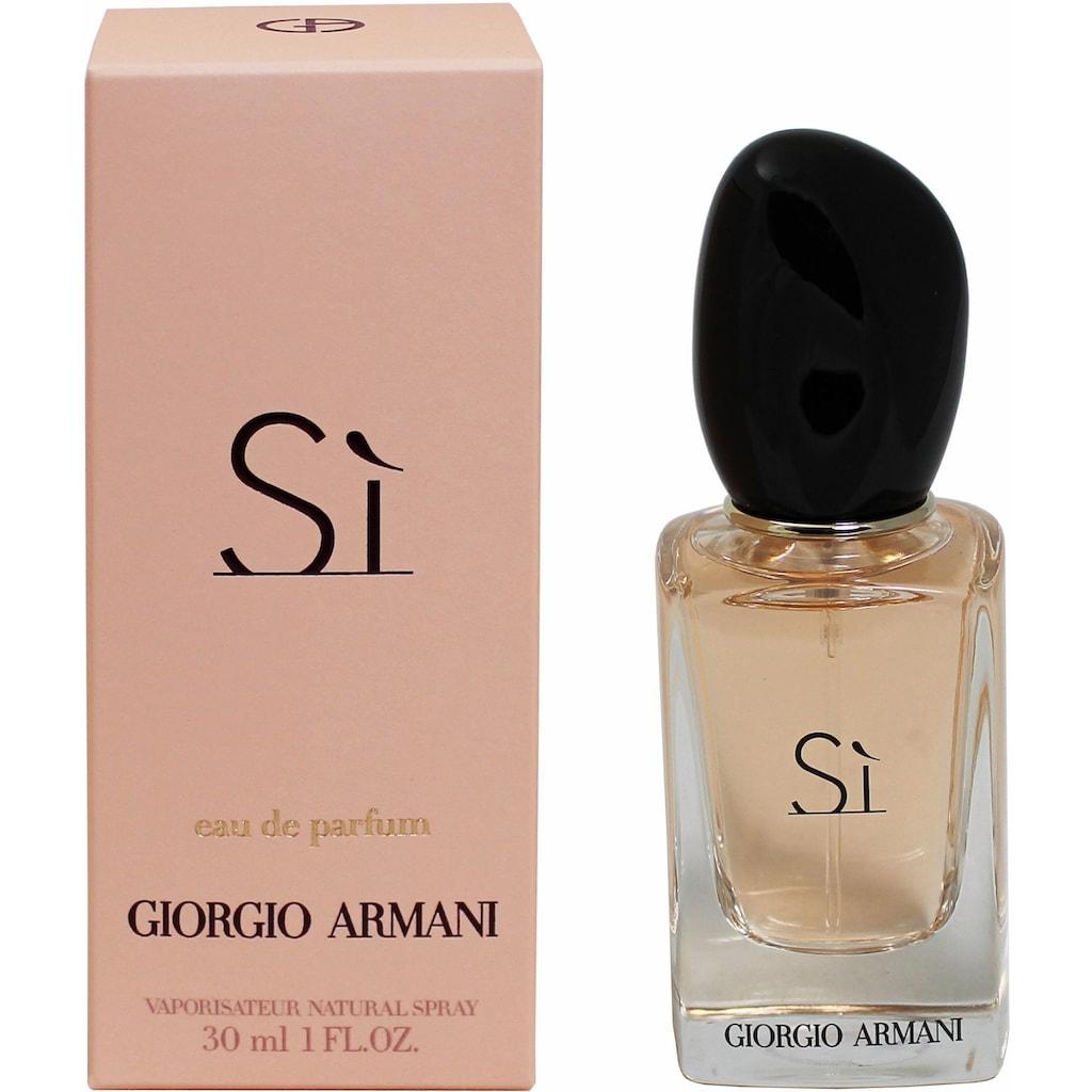 Giorgio Armani Eau de Parfum »Sì«