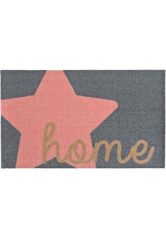 Zala Living Fußmatte »Star Home«, rechteckig, 7 mm Höhe, Fussabstreifer, Fussabtreter,... kaufen