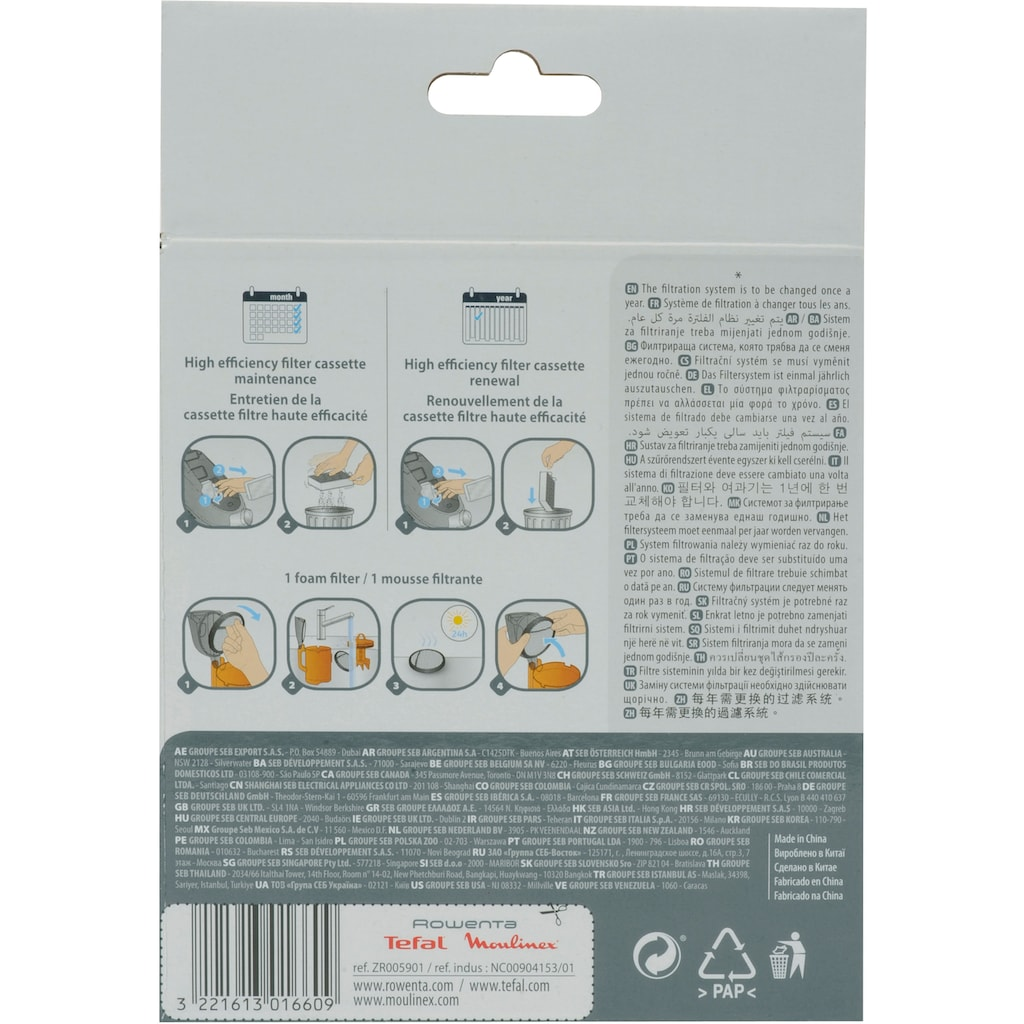 Rowenta Filter-Set »ZR005901«