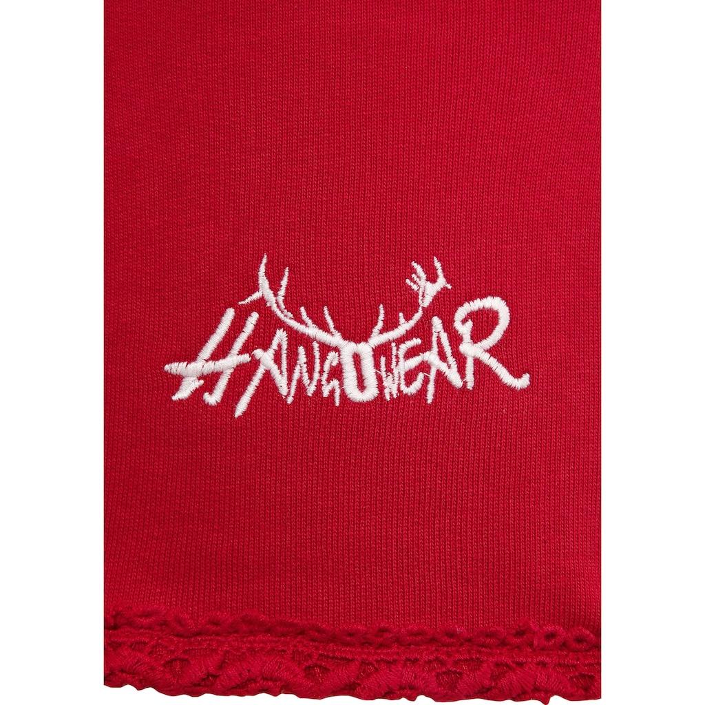 Hangowear Trachtenblazer, mit herzförmigen Taschen