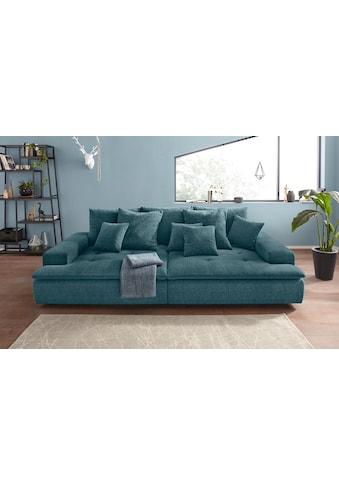 Nova Via Big-Sofa, wahlweise mit Kaltschaum (140kg Belastung/Sitz) und AquaClean-Stoff für leichte Reinigung mit Wasser kaufen