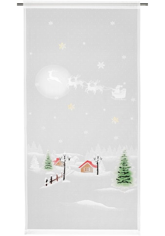 WILLKOMMEN ZUHAUSE by ALBANI GROUP Vorhang »Winterlandschaft«, HxB: 225x100, Jacquard-Fensterbild kaufen