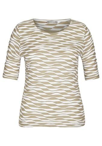 Rabe T-Shirt, mit gestreiftem Muster und Rundhalsausschnitt kaufen