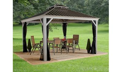 Sojag Pavillon »Gazebo Messina«, (Set), BxT: 363x483 cm, mit Moskitonetzen kaufen