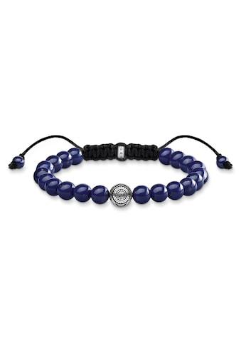 THOMAS SABO Armband »A1779-535-1-L22v, Ethno blau«, mit imit. Lapislazuli kaufen