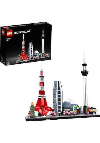 """LEGO® Konstruktionsspielsteine """"Tokio (21051), LEGO® Achritecture"""", Kunststoff, (547 - tlg.) kaufen"""