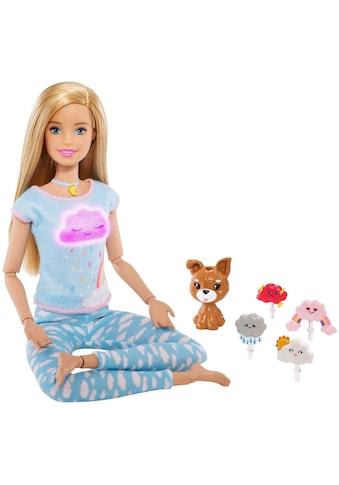 Mattel® Anziehpuppe »Barbie Wellness Meditation Puppe, blond« kaufen