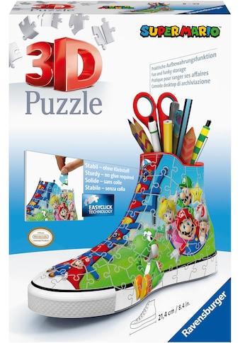 Ravensburger 3D-Puzzle »Sneaker Super Mario«, FSC® - schützt Wald - weltweit; Made in... kaufen