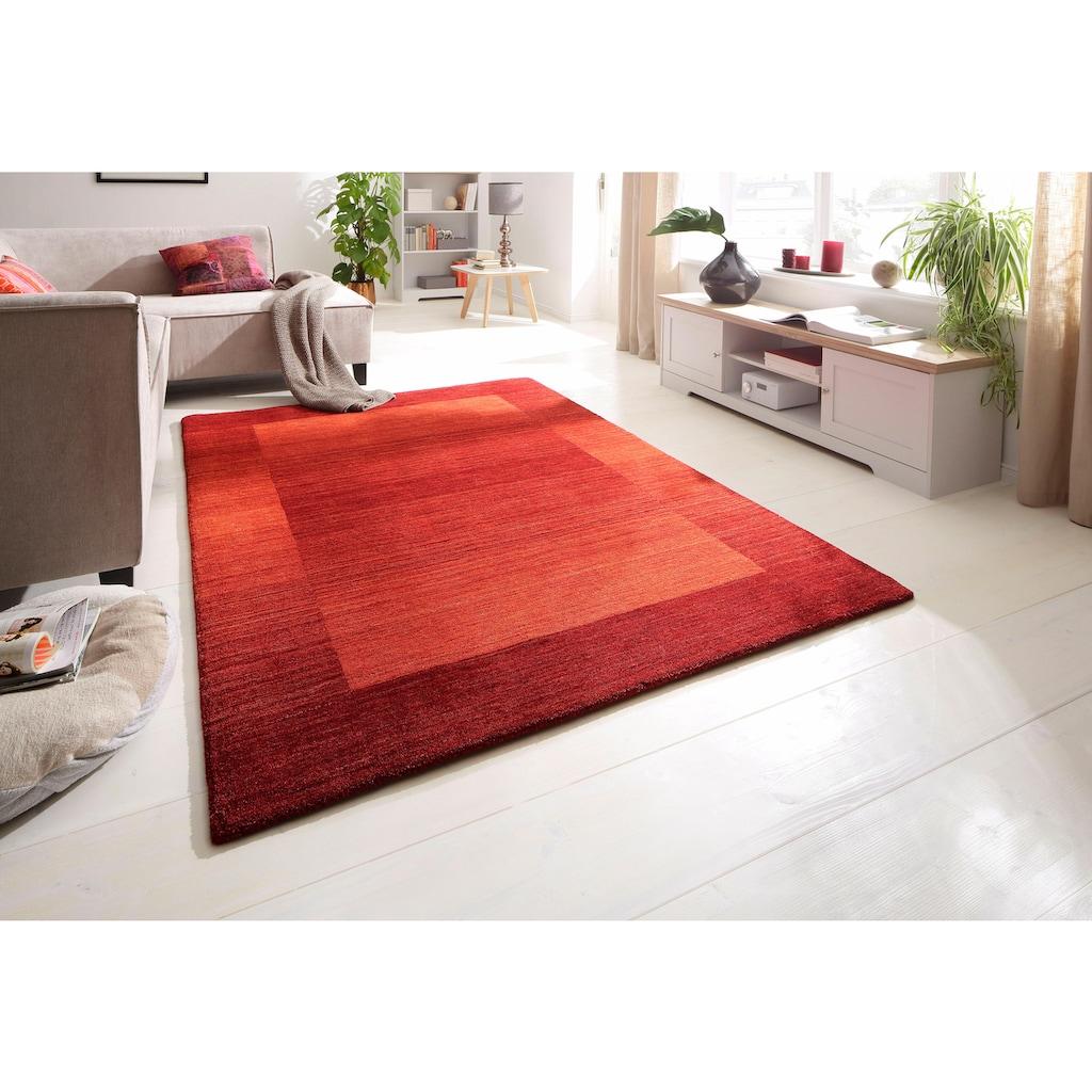 Theko Exklusiv Wollteppich »Gabbeh Super«, rechteckig, 9 mm Höhe, reine Wolle, Wohnzimmer